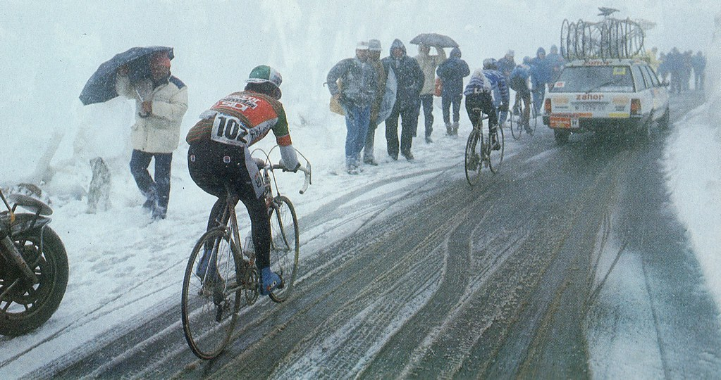 Passo Gavia 1988