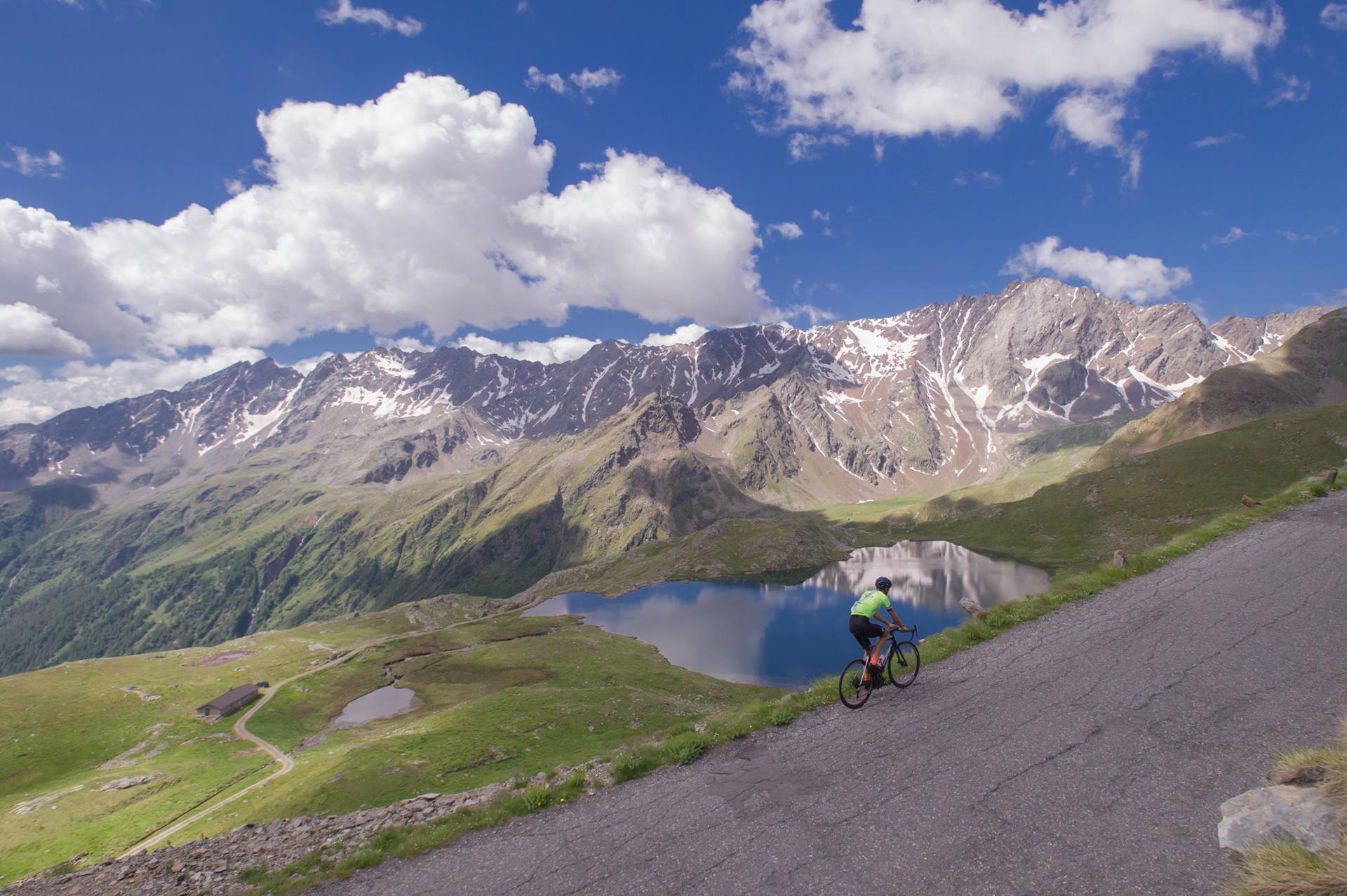 Il panorama dell'Alta Valle Camonica